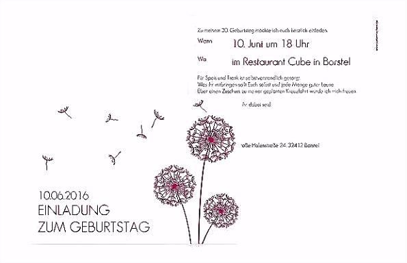 Einladung 40 Geburtstag Lustig 55 Fantastisch Einladung Zum 30