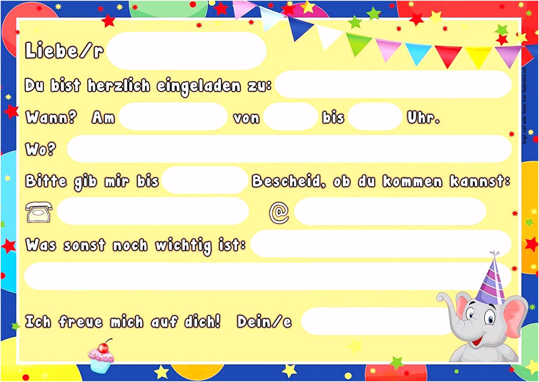 Einladung Geburtstag Kinder