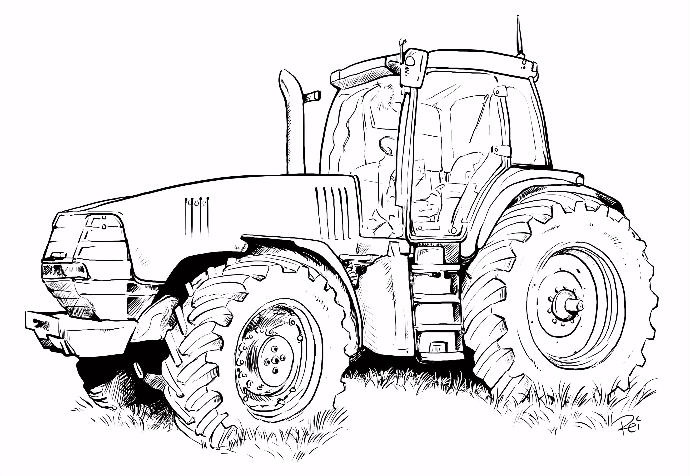 traktoren bilder zum ausmalen ausmalbildkostenlos