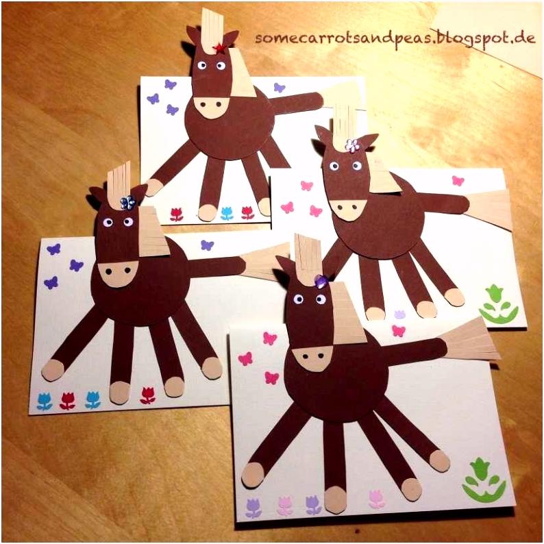 Einladungskarten Kindergeburtstag Selber Basteln Vorlagen Pferd