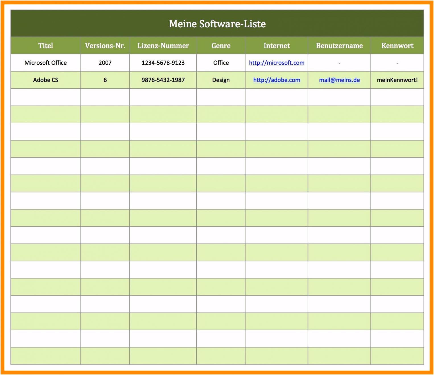 Vorlage Rechnung Excel