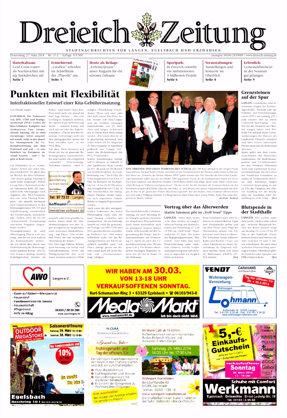 Dz online 013 14 a by Dreieich Zeitung fenbach Journal issuu