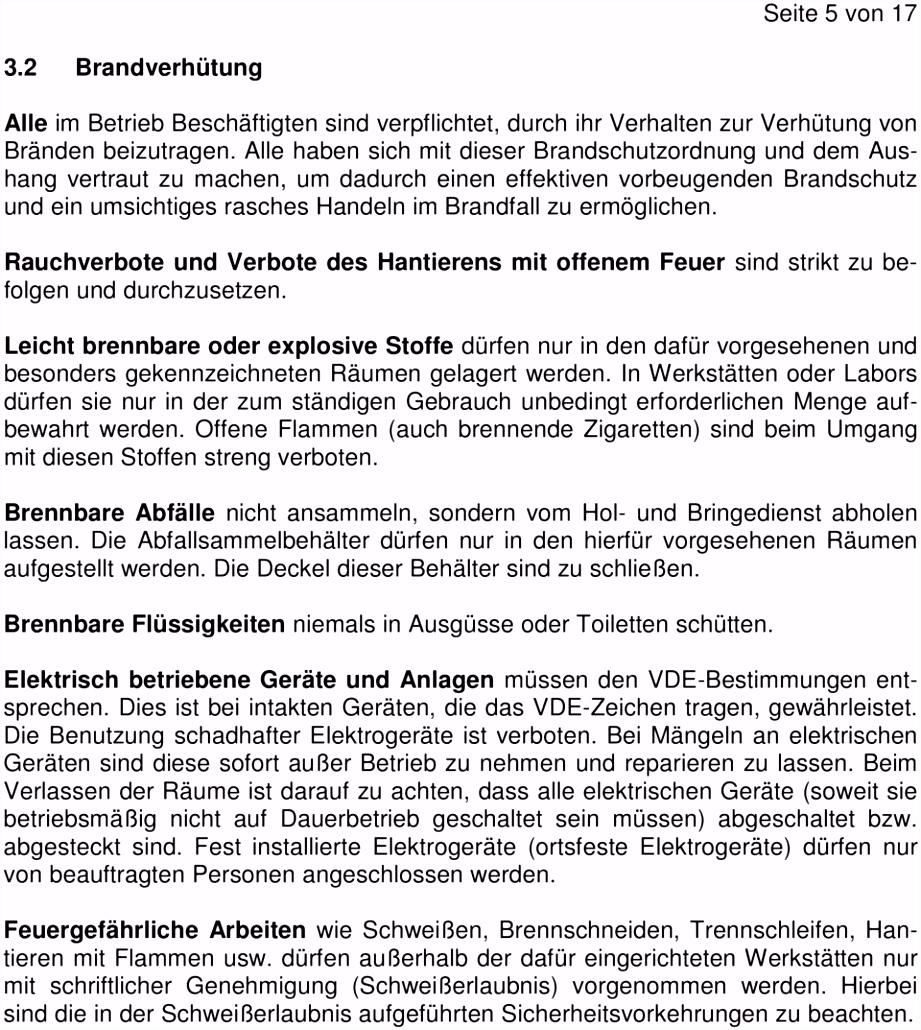 """Erlaubnisschein Fur Feuergefahrliche Arbeiten Vorlage In Der Din Brandschutzordnung"""" Wird Eine Aufteilung In 3 Teile A5zk57itm3 J4zhmmgss6"""
