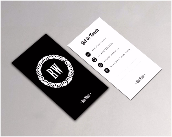 Basic Vertical Business Card Holder Billigmax