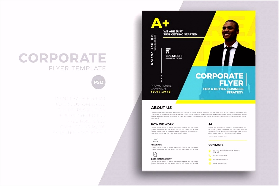 20 Business Flyer Templates Word & PSD