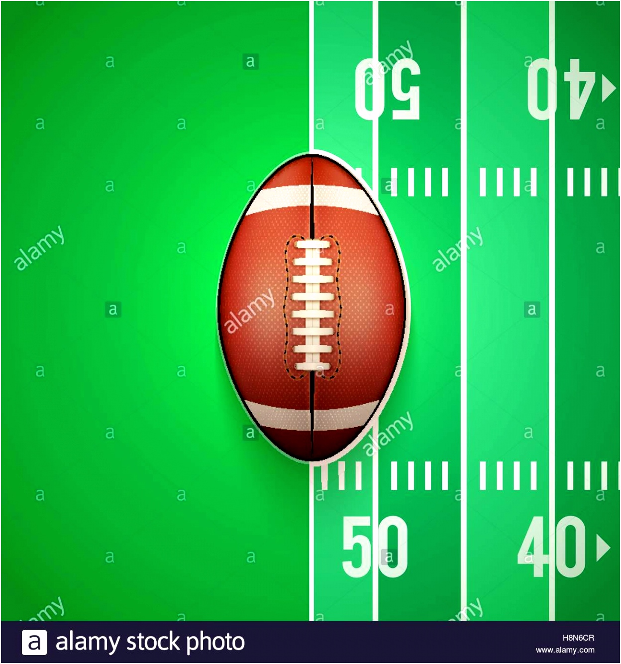 American Football Poster Helmet Ball Stockfotos & American Football