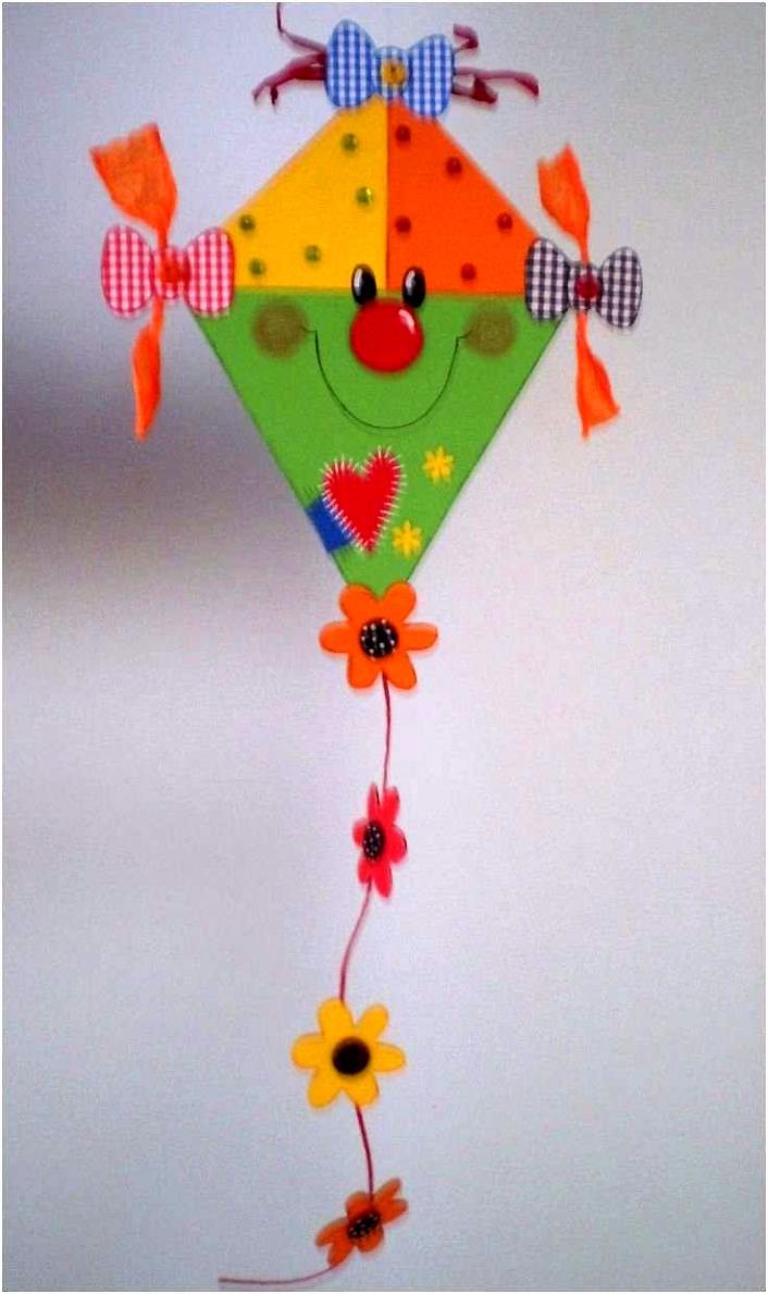 Herbstbasteln Mit Kindern Bild Besten Der Drachen Basteln Vorlage