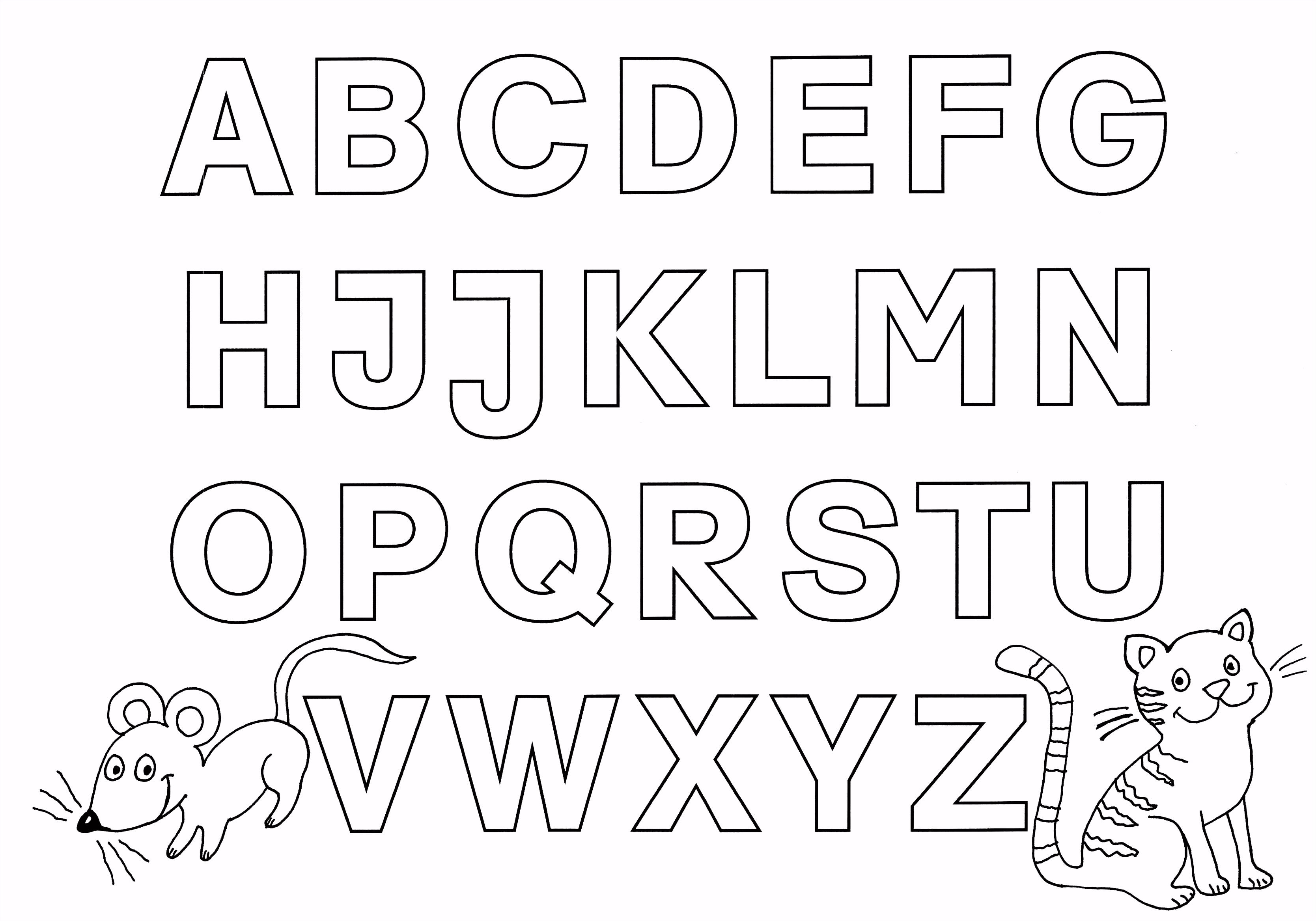 Graffiti Buchstaben Zum Ausdrucken Idee Malvorlagen Alphabet