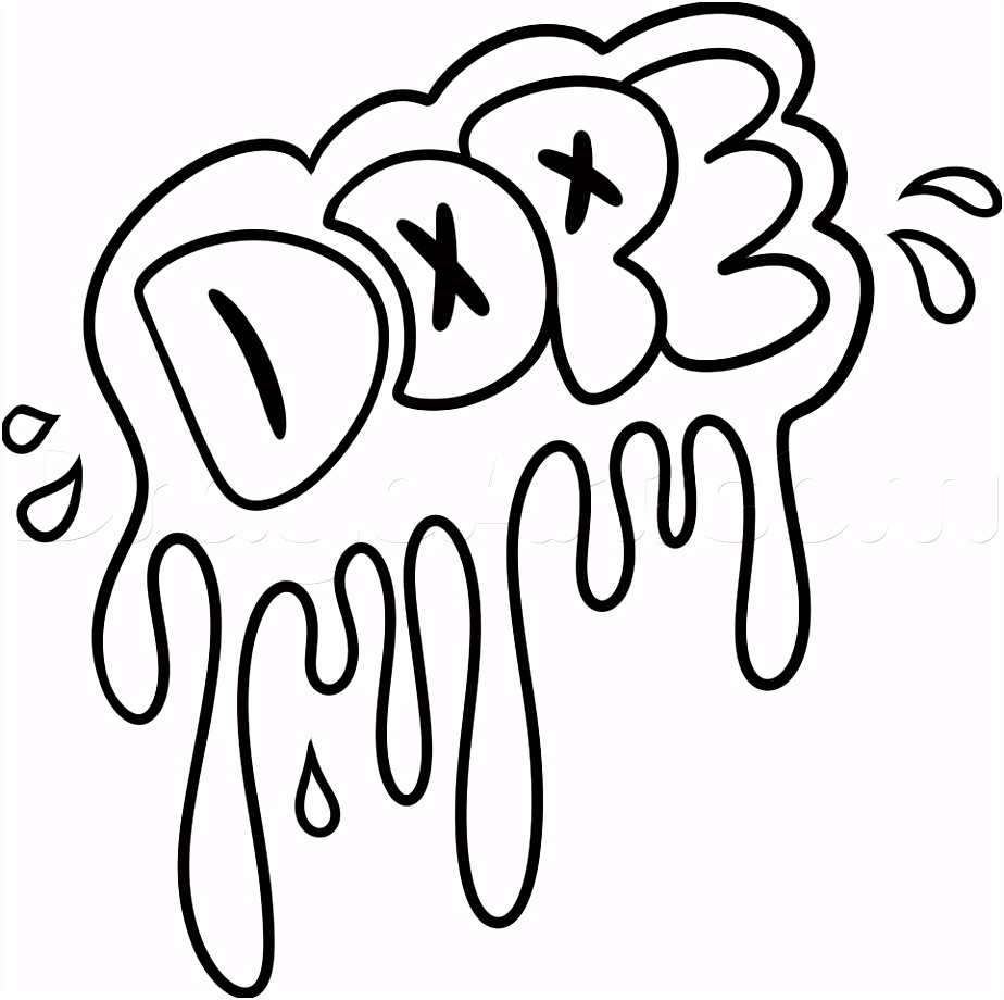 Learn How to Draw Dope Graffiti Pop Culture FREE Step by Step
