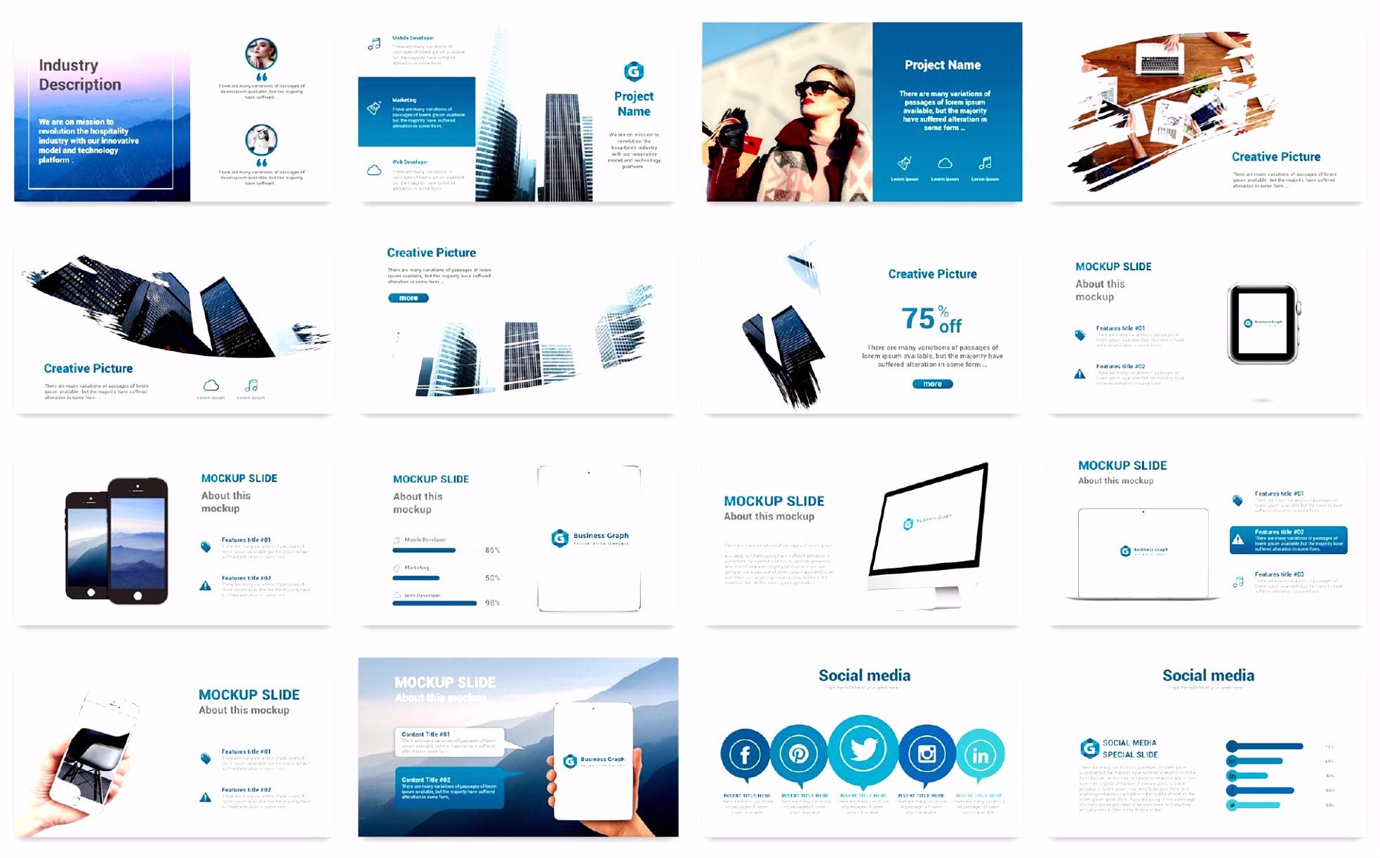 PowerPoint Vorlage für Designstudio