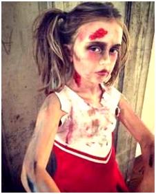 Halloween Zombie Schminken