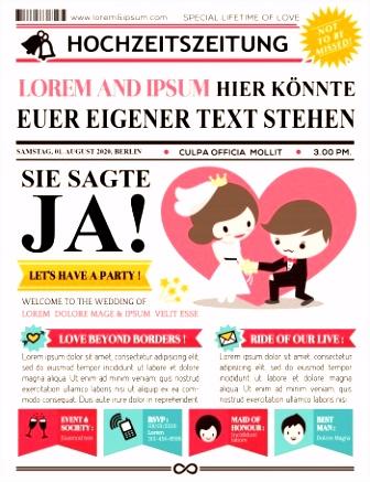 Hochzeitszeitung So gestaltet ihr ein professionelles Magazin in 5