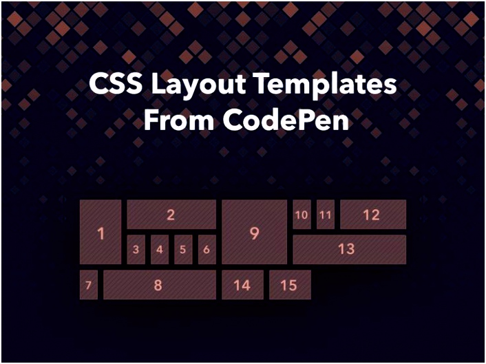 Using CSS layout templates when building a website can help you