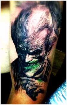22 Best The Joker Arm Tattoo images