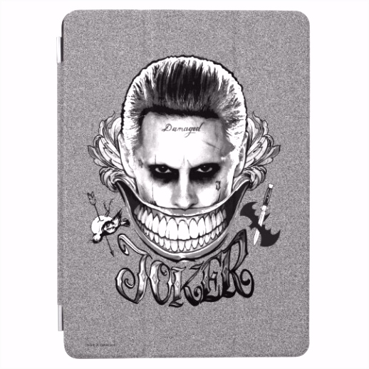 Suicide Squad Joker Smile iPad Air Cover