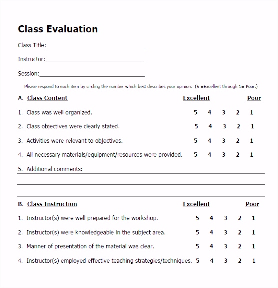 Feedback form Template Presentation Evaluation form Datform Co