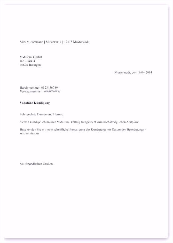 Austritt Aus Gemeinsamen Mietvertrag Vorlage Vordruck Kündigung