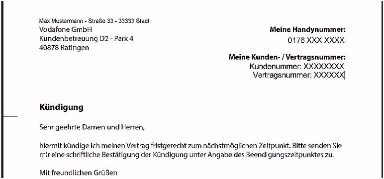 Kundigung Rufnummernmitnahme Vorlage 41 Hübscher Galerie Der Kündigung Vodafone Vorlage U4ye93xww4 Bhps4mjex6