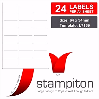 Labelmedia Etiketten Vorlage Bürobedarf & Schreibwaren Universal Aufkleber Produkte Von K5yx72tva3 H4qs52hlh5
