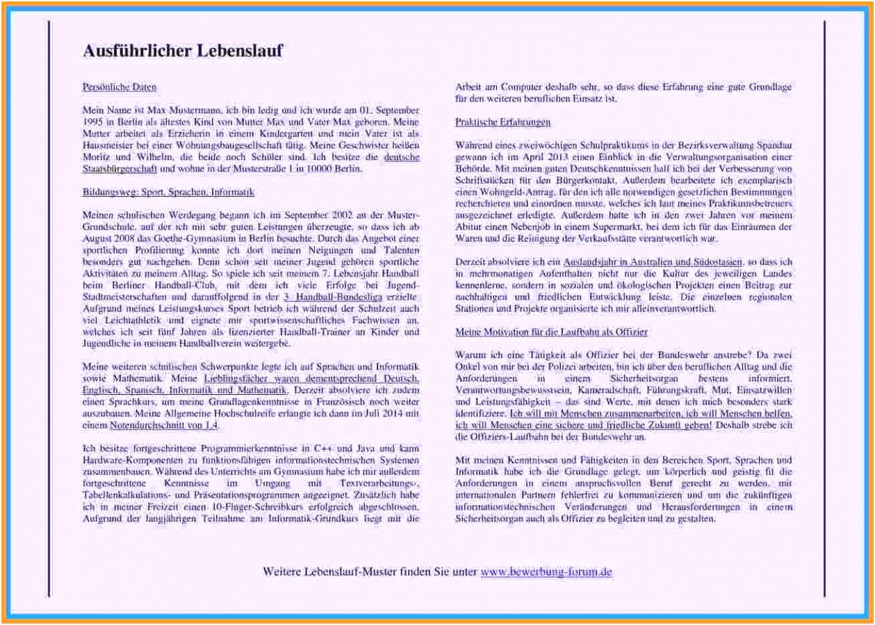 Lebenslauf Stipendium Vorlage Ausführlicher Lebenslauf Muster Resume Template Online B2yu41evd8 Rmjg4skhgm