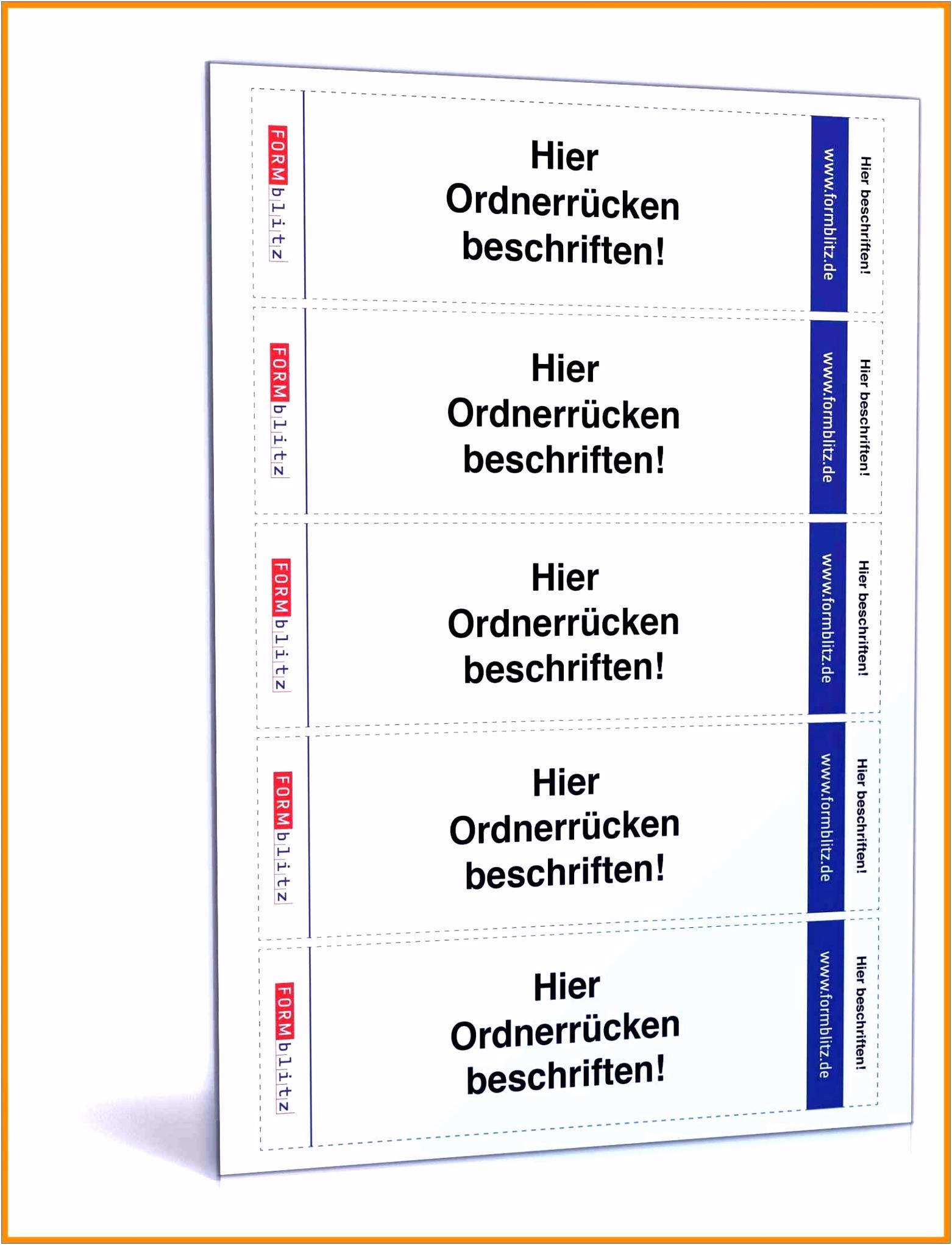 Leitz Register Vorlage Word Einzigartig Besten Der ordner