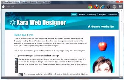 Xara Web Designer Premium 7 1 Download Free trial WebDesigner exe