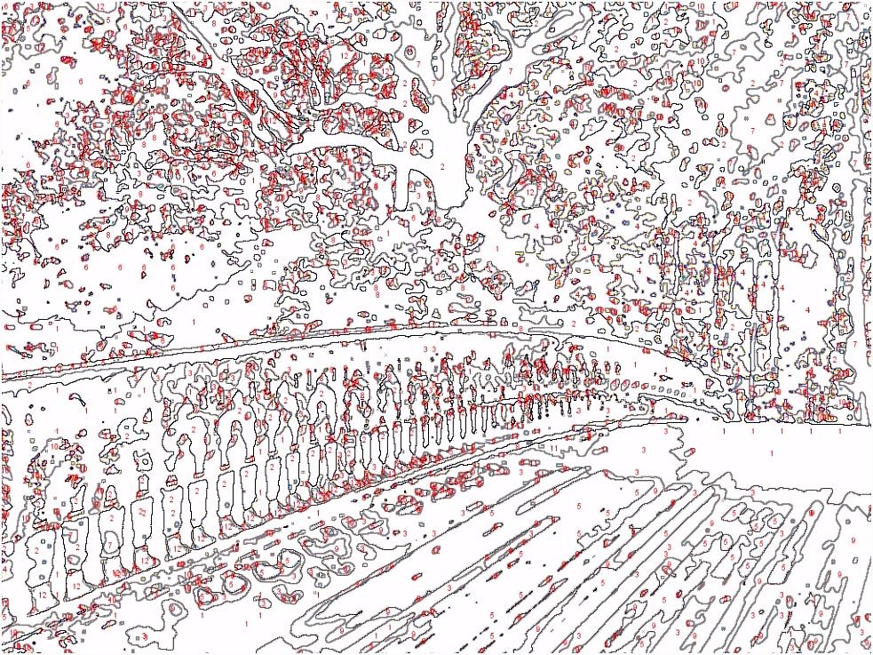 004 Angenehm Malen Nach Zahlen Vorlagen Erwachsene Abbildung Innen