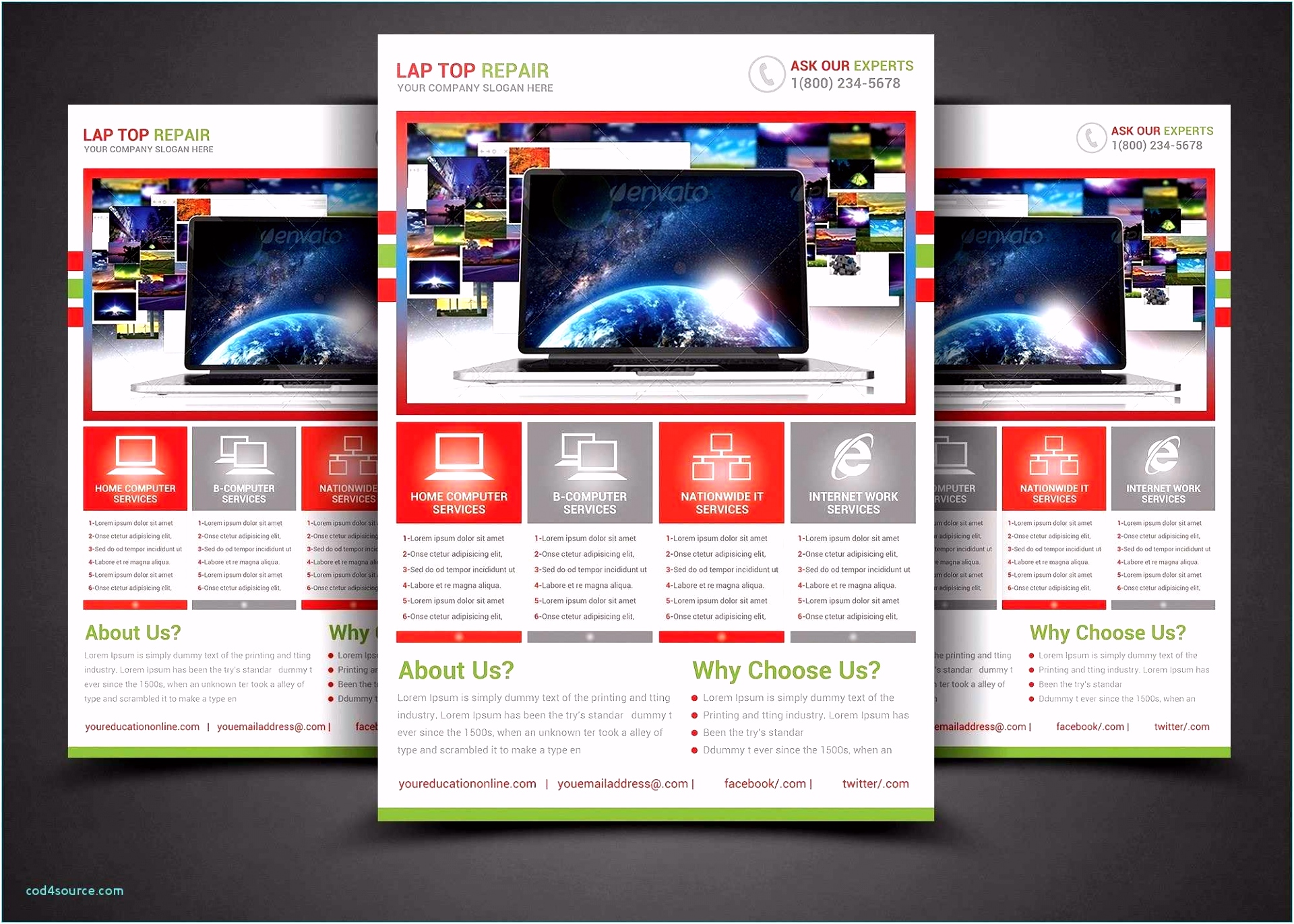 Ms Publisher Templates Professional Template Microsoft Website