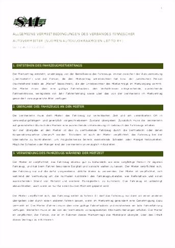 Allgemeine Vermietbedingungen für Reisemobile AGB Allgemeine
