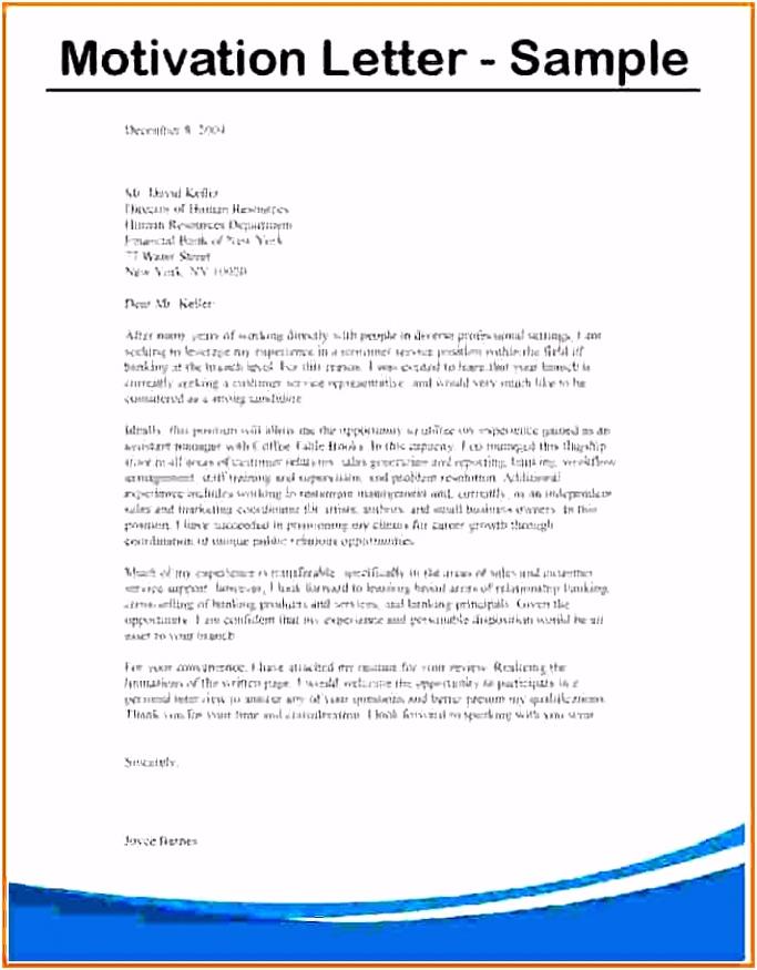 10 motivational letter for bursary application sample