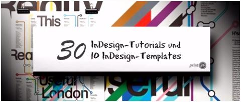 30 großartige InDesign Tutorials und 10 InDesign Templates