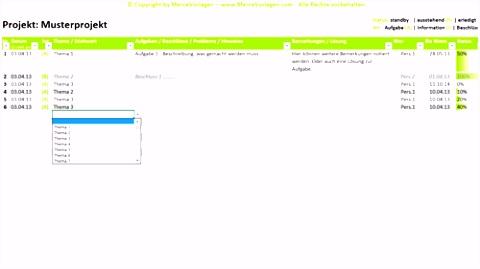 Nutzwertanalyse Excel Vorlage Projektplan Excel