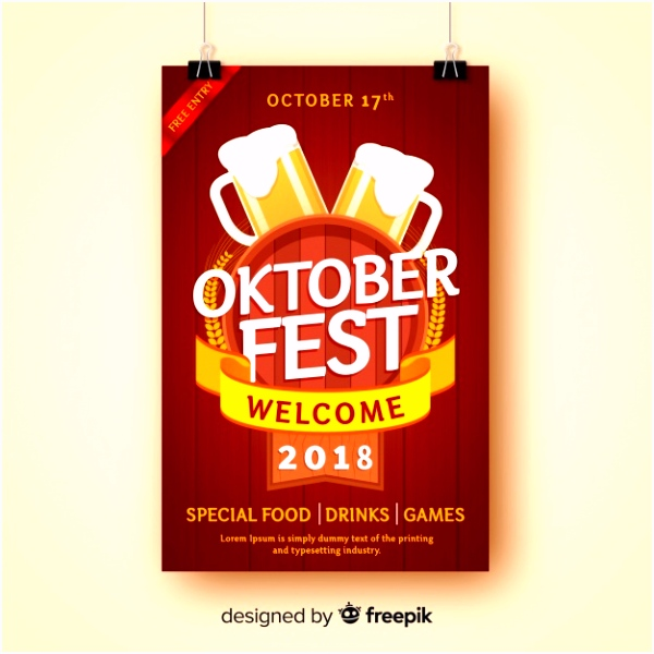 Oktoberfest Plakat Vorlage Kostenlos Creative Oktoberfest Poster Template Vector E1ye25slb5 Uunvs5kaj4