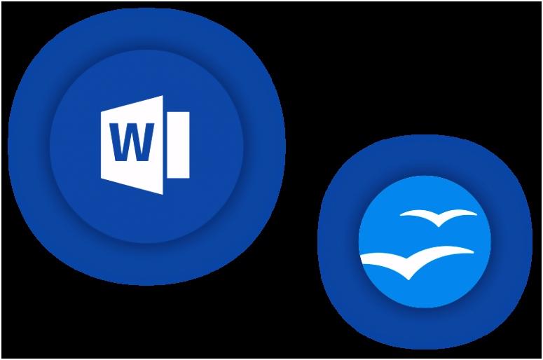 Vorlagen für Word und Open fice