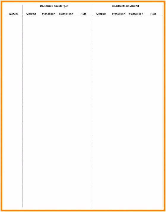 57 Schreiben Blutzucker Tabelle Vorlage Einfach dontdrillsc