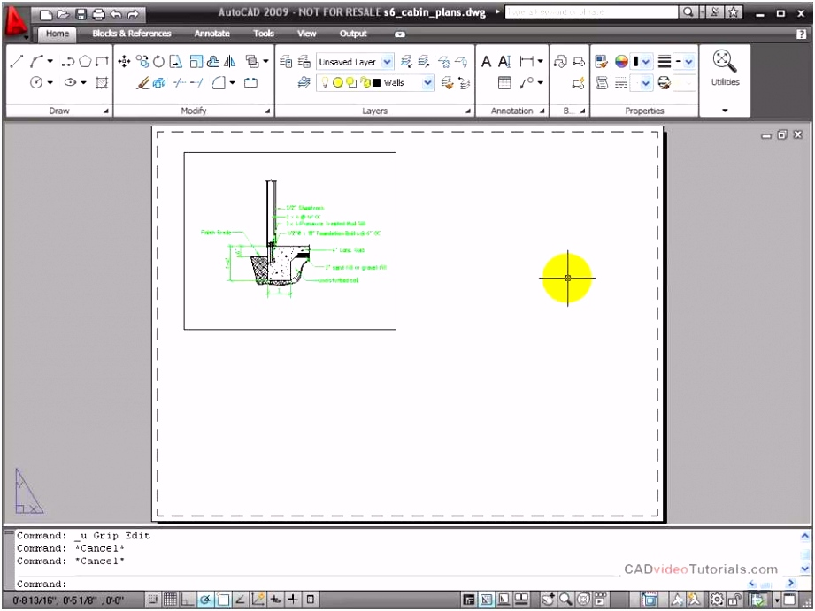 Plankopf Autocad Vorlage Autocad Tutorial Modifying A Viewport D5yz51udl7 F4zj2swhws