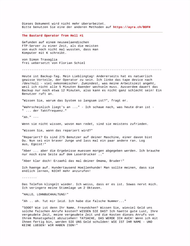 PDF auf AyrA