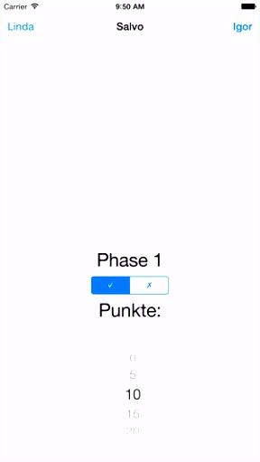 Phase 10 Wertungsblatt im App Store