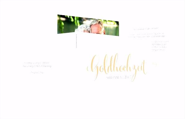 """Einladung Goldene Hochzeit """"Für immer"""""""