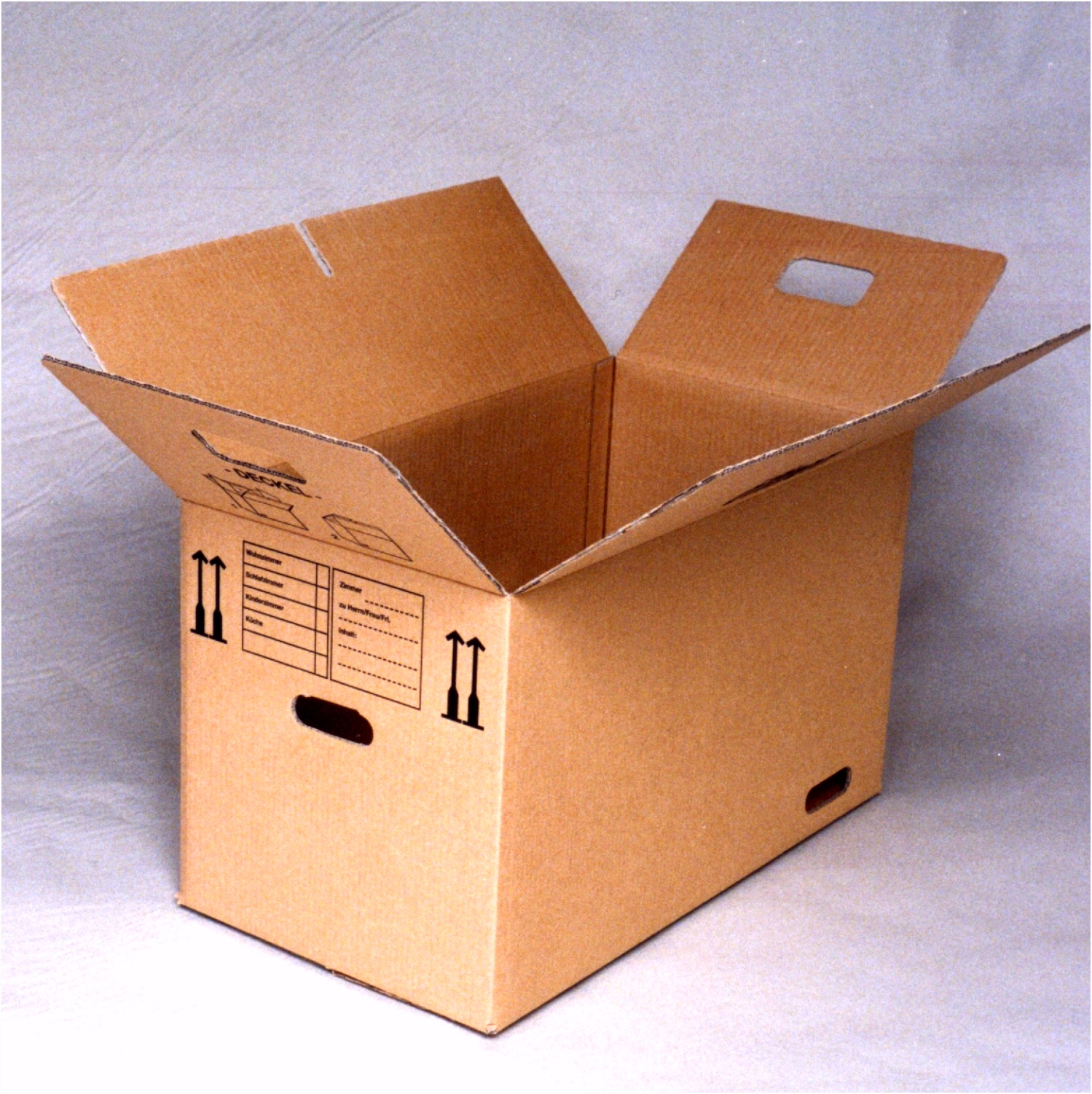 Corrugated box design