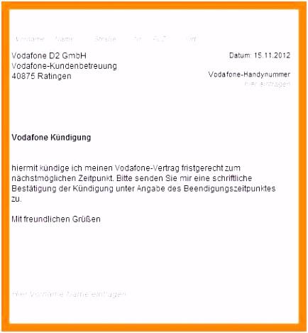 Vodafone Mobilfunkvertrag Kundigen Vorlage Kündigung Vodafone Handyvertrag Vorlage Vodafone Beschwerde Vorlage E4gw06sfd6 X4gi5skxe4