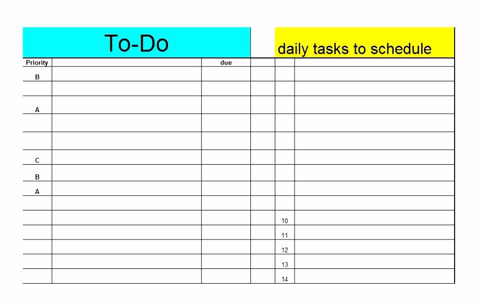 Aufgabenliste Excel Vorlage Kostenlos Beschreibung 15 To Do Liste