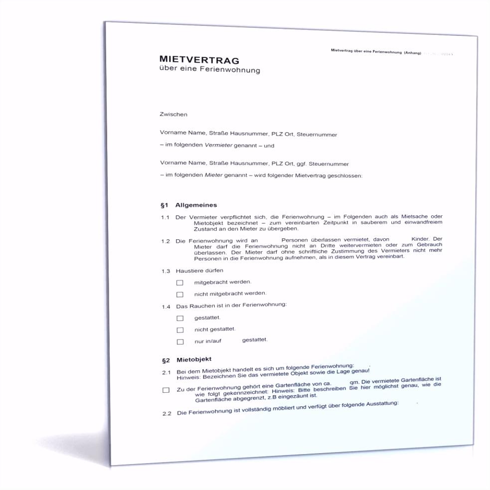 20 außerordentliche kündigung mietvertrag muster