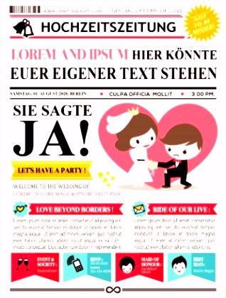 8 Hochzeitszeitung Layout Vorlage Scmskk