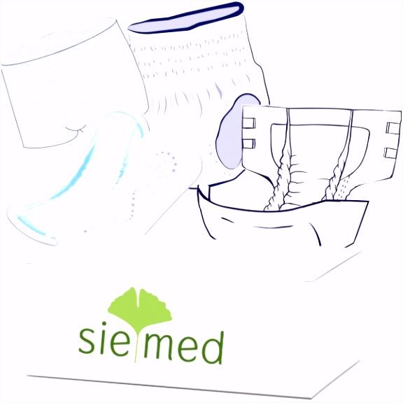 Produktmuster Harninkontinenz Vorlagen & Einlagen