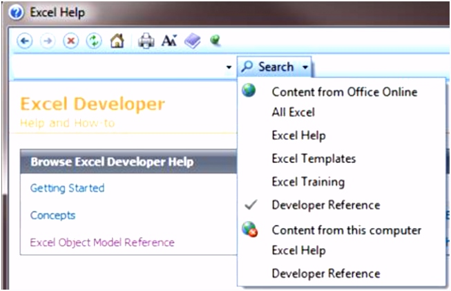 Getting started with VBA in fice