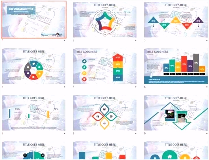 Business Powerpoint Templates Beautiful Free Business Templates 2018