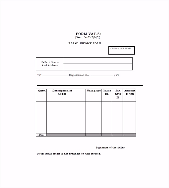 General Bill Sale Template Word Readleaf Document