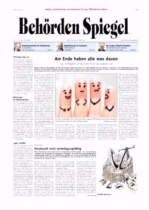 Behörden Spiegel Mai 2018 by propress issuu
