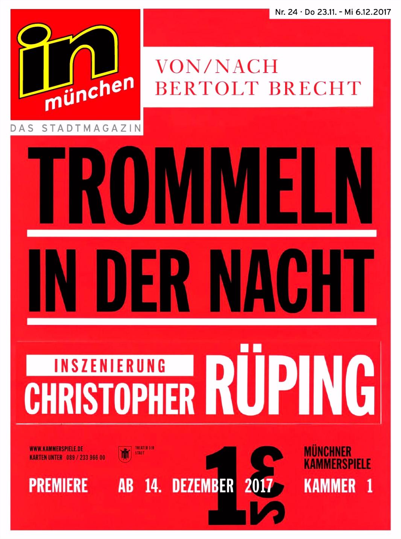 in münchen Das Stadtmagazin Ausgabe 24 2017 by InMagazin Verlags